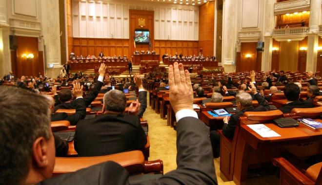 Foto: S-a promulgat noul statut al parlamentarului. Ce modificări au intervenit