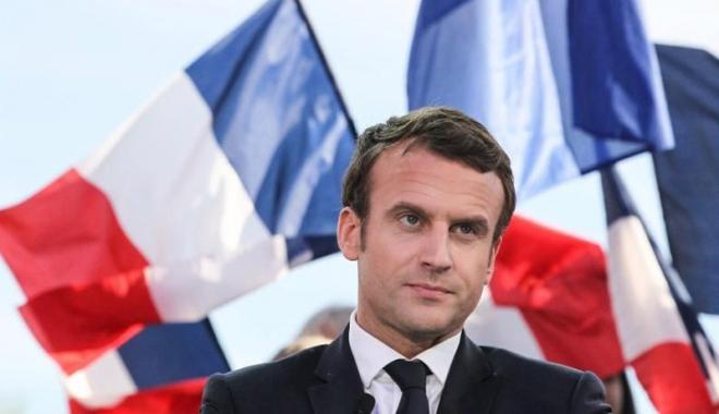 Foto: Partidul lui Macron  şi aliaţii săi,  în frunte cu 32,32%