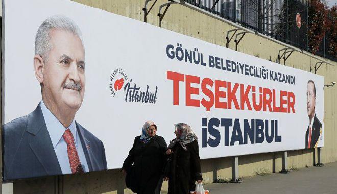 Foto: Partidul preşedintelui Erdogan cere din nou repetarea scrutinului la Istanbul