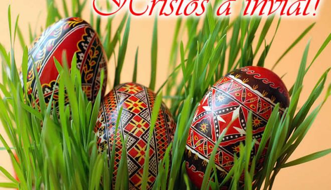 Foto: HRISTOS A ÎNVIAT! Paştele, sărbătoarea Învierii Mântuitorului