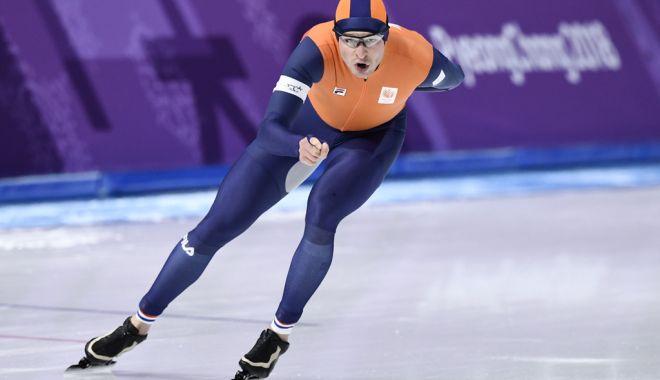 Foto: Olandezul Sven Kramer, a treia oară campion olimpic la patinaj viteză