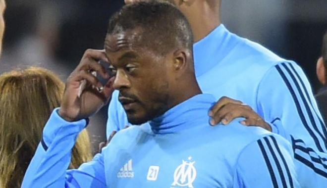 Foto: Fotbal / Patrice Evra, exclus din lotul lui Olympique Marseille