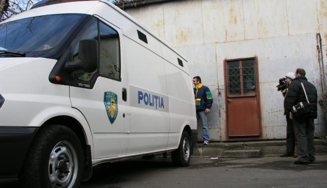 Foto: Ţepar-fugar, prins de poliţişti, la Constanţa