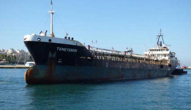 """Foto: Patru membri ai echipajului de pe """"Temeteron"""" au fost eliberaţi"""