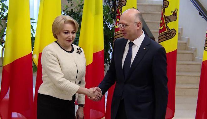 """Foto: Pavel Filip: """"Relația dintre Republica Moldova și România este una specială"""""""