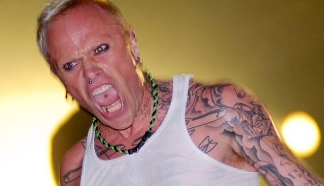 Foto: A murit Keith Flint, starul trupei Prodigy