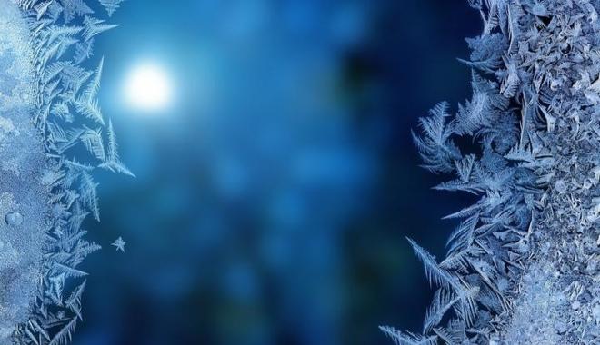 Foto: Ger puternic la noapte, la Constanţa. Vor fi minimum -6 grade Celsius
