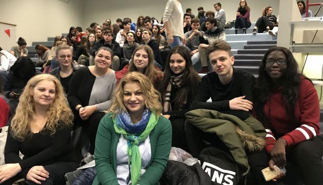 Foto: Elevii constănțeni, prezenţi în Italia, în cadrul unui important proiect
