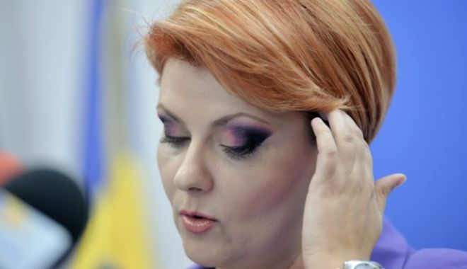 Foto: Lia Olguţa Vasilescu anunţă plângere penală împotriva preşedintelui Klaus Iohannis pentru refuzul de a o numi la Dezvoltare