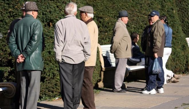 Foto: INS. Câţi pensionari sunt în România