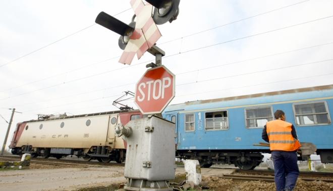 Foto: Percheziţii în Constanţa. Hoţii de motorină din trenuri, vizaţi de poliţişti