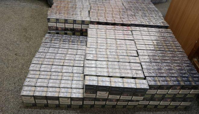 Foto: Percheziţii la Constanţa. Vizaţi sunt contrabandiştii cu ţigări