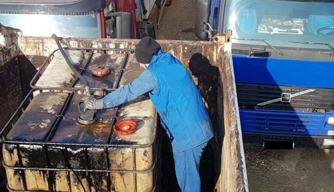 Foto: Furturi de amploare de produse petroliere. Suspecții