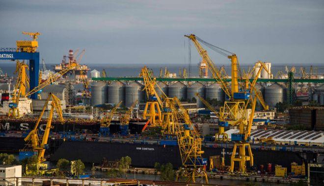 Foto: Performanțe spectaculoase ale porturilor maritime românești