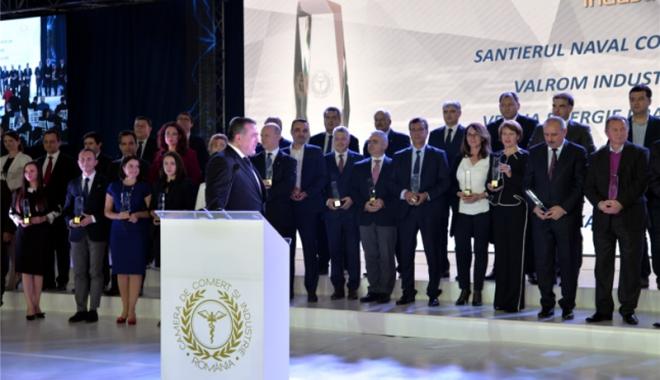 Foto: Performerii economiei româneşti, premiaţi la Gala Topului Naţional al Firmelor 2017