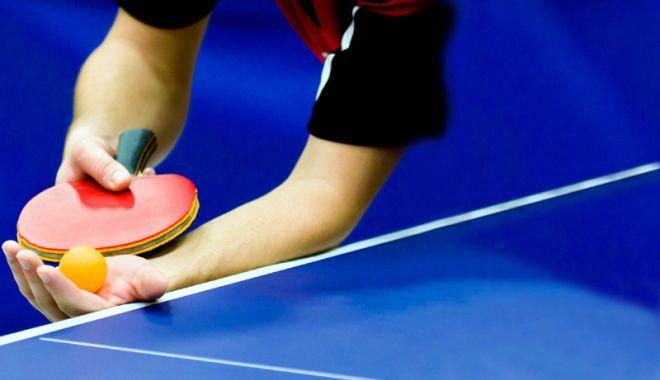 Foto: Personalul MAI participă la Campionatul de Tenis de Masă