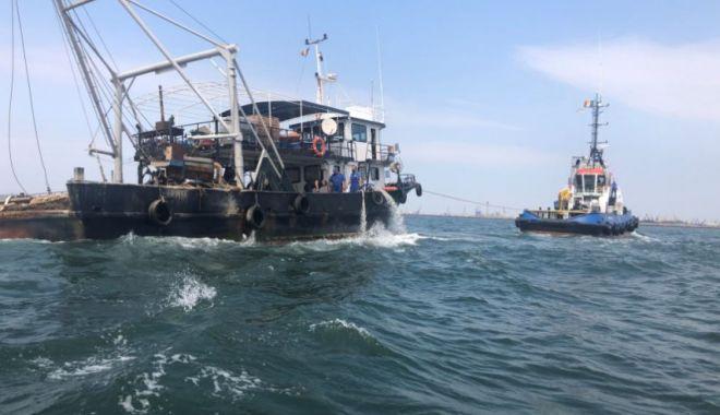 Foto: Midia Marine Terminal, operațiune de salvare pe mare în timp record