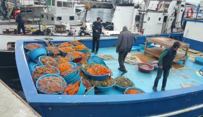 Foto: Pescador turcesc oprit cu focuri de armă, după ce a intrat în nava Poliţiei de Frontieră