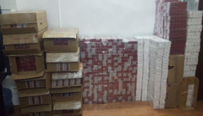 Foto: Peste 13.000 de pachete cu țigări de contrabandă descoperite de polițiștii de frontieră