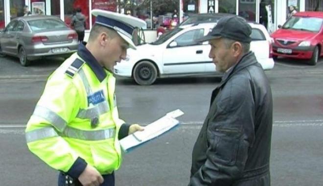 Foto: Peste 13.600 de pietoni au fost amendaţi de poliţişti