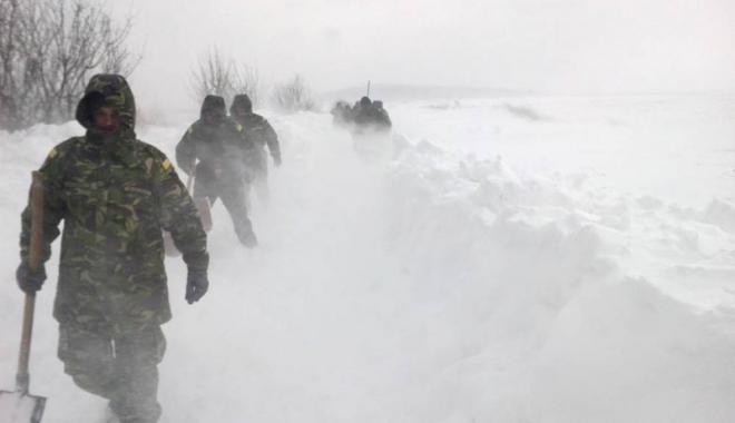 Foto: Peste 200 de militari au intervenit  în judeţul Constanţa