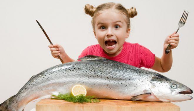Foto: Peştele poate reduce simptomele astmului