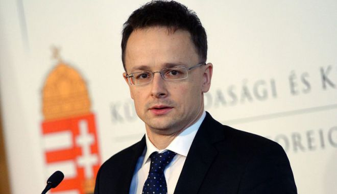 """Foto: Peter Szijjarto: """"Ministrul luxemburghez de Externe urăşte Ungaria!"""""""