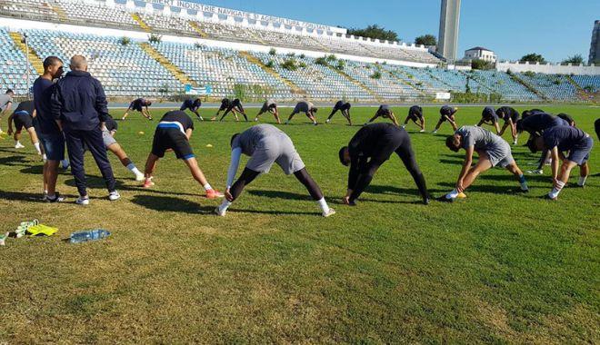Foto: Petre Grigoraş a condus antrenamentul echipei SSC Farul