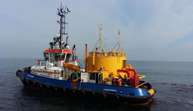 Foto: VIDEO / Cum îşi desfăşoară activitatea Rafinăria Petromidia. Terminalul de ţiţei aşteaptă vapoare la descărcare