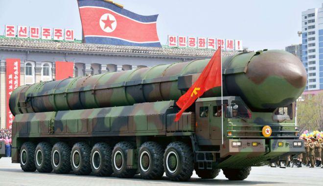 Foto: Phenianul ameninţă că va reveni la politica de dezvoltare  a arsenalului său nuclear