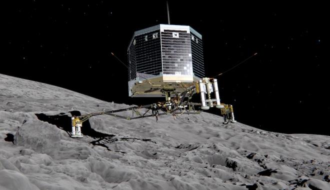 Foto: Agenția Spațială Europeană a localizat robotul Philae, pierdut anul trecut