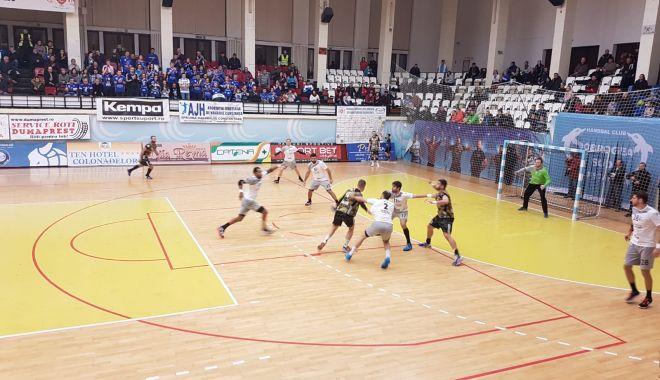 Foto: GALERIE FOTO / HC Dobrogea Sud Constanța, de neoprit! Prima în Liga Națională
