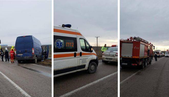 GALERIE FOTO / ACCIDENT RUTIER GRAV LA CONSTANȚA! TREI PERSOANE, DECEDATE - photo20181224105605-1545643019.jpg