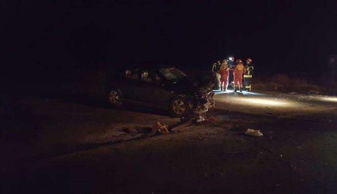 GALERIE FOTO / Accident rutier la Gura Dobrogei. Două persoane sunt încarcerate - photo20190129181659-1548779789.jpg