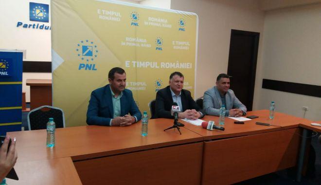 Foto: Primarul de la Medgidia, Valentin Vrabie s-a înscris în PNL