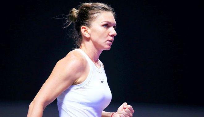 Meci de infarct la Turneul Campioanelor. Simona Halep a câștigat meciul cu Bianca Andreescu! - photo20191028173417-1572277653.jpg