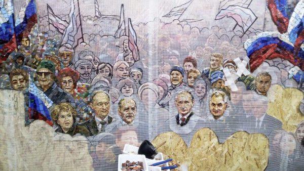 Noua catedrală construită de Rusia conține mozaicuri cu Putin, Stalin și anexarea Peninsulei Crimeea - photo202004240051093600x338-1588087920.jpg