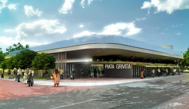 Foto: PIA�A GRIVI�EI va fi ras� de pe fa�a p�m�ntului. Cum va ar�ta noua pia�� din centrul Constan�ei / GALERIE FOTO