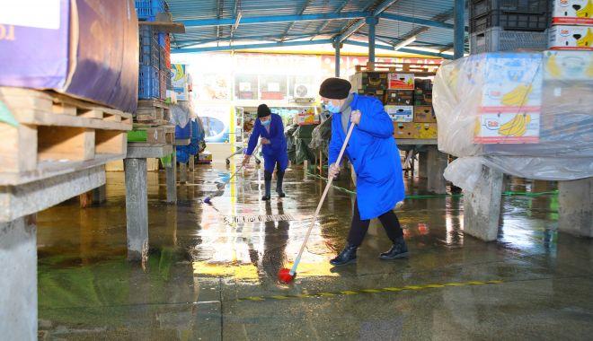 Piaţa I.L. Caragiale, închisă luni, pentru curăţenie generală - piatailcaragiale-1617547160.jpg
