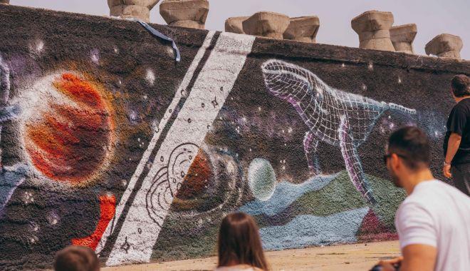 Pictură murală de 50 de metri pe digul din Portul Tomis - picturamurala-1620055565.jpg