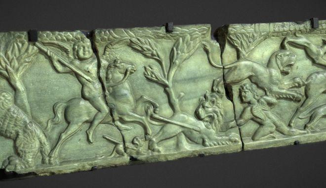 Foto: Piesă din secolul al II-lea, reprezentată 3D la Muzeul de Istorie
