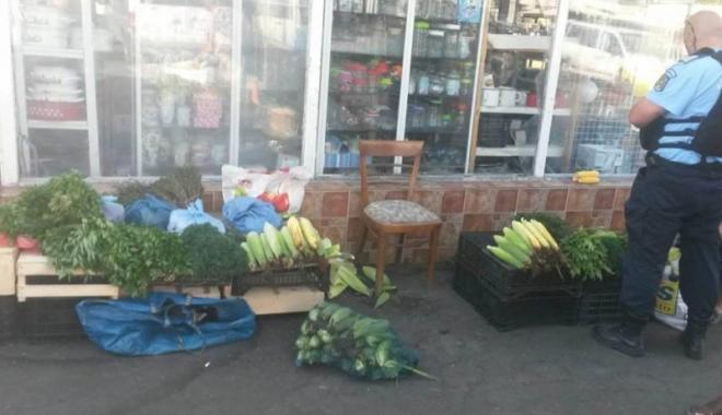 Foto: Ravagii în pieţele constănţene. Stop comerţului ilicit!