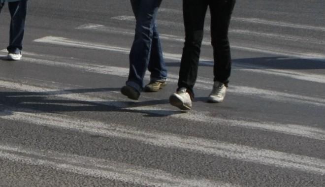 Foto: Accident rutier în Constanţa. Victima: un pieton