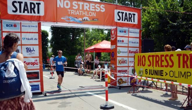 Foto: Primarul Cristian Radu  a alergat la triathlonul  de la Olimp