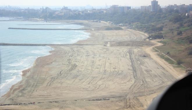 Foto: Plajele reabilitate şi extinse au trecut cu bine peste furtunile din iarnă. Încep pregătirile pentru sezonul estival