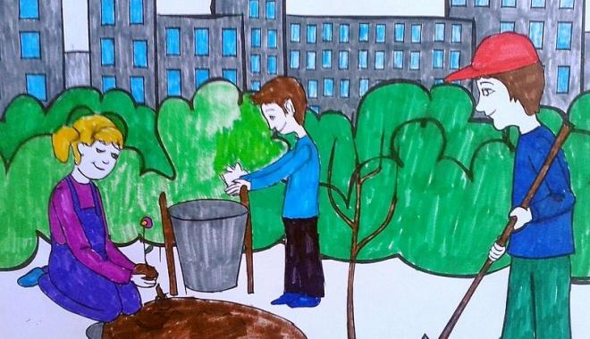 """Foto: """"Planeta albastră""""  aduce în atenţia elevilor catastrofele ecologice"""