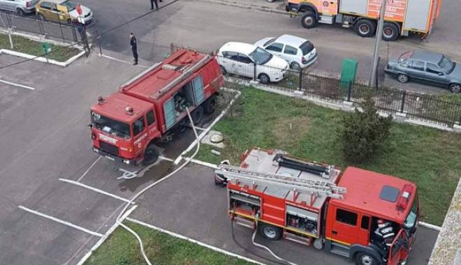 Foto: Planul Roşu, activat după un incendiu la Spitalul CF Constanţa