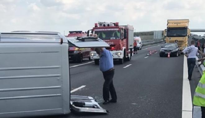 Foto: Grav accident pe autostradă / Sunt şapte victime! Planul roşu de intervenţie, activat
