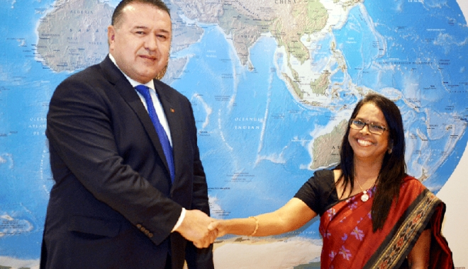 Foto: Planuri economice de colaborare  între România și India, în 2018