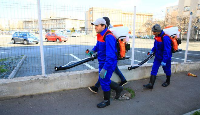 Platformele de gunoi din oraș dezinfectate cu substanțe pe bază de clor - platformele-1584449373.jpg